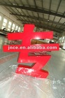 Stainless steel car letters logos