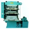 Rubber tile pressing-machine
