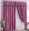 NEW 3 pass stripe 100% polyester blackout curtain fabric