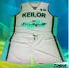 Customized basketball uniform for man