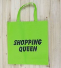 non woven promotion bag letter print