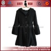 2012 new style lady cotton overcoat with hood