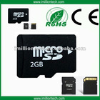 High speed micro sd memory card with adapter blister packing (6018)