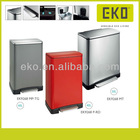 50L rectangular soft closing trash bin (pedal bin step bin)