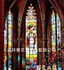 church glass/tiffany glass/art glass/multicolor glass/decorative glass JT-06