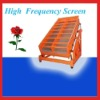 Easy adjusted high frequency screens