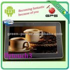 10inch android 2.3 GPS Ethernet HDMI 32GB Tablet pc