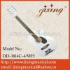 wooden accoustic guitar
