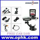 1080P F900HD Car Camera DVR Continuous Auto Focus Video Camera Recorder DVR