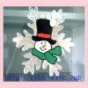 Soft pvc christmas decoration for 2012 christmas day