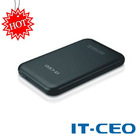 Aluminum sata hdd case usb2.0 with Encription