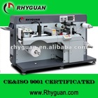 Semi-Rotary Cutter/Sheeter/Slitter Rewinder/TOP-300 Automatic Label Die Cutting Machine/