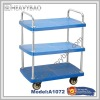 3-Tier Industrial heavy duty trolley 500kg