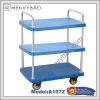 3-Tier Industrial heavy duty trolley 500kg