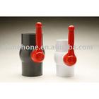 """3""""PVC ball valve(White Thread)"""