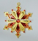 Christmas snowflake ornaments for decoration