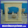 Freestanding Marble Fireplace