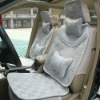 top grade ice silk cushion with headrest ice silk car seat cover car seat seat cushion