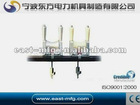 Crossarm mounted stringing Block(tri-rollers)