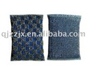 silver jacquard scouring pads