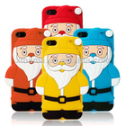 So Cute Christmas Gift Cell Phone Silicone Case Fit for Iphone 5 5G 5th