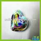 Big lucky colorful hearts pendants with crystal in bulk CP063