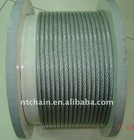 electro galvanzed 6x19S+FC elevator steel wire rope