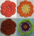 flower embroidery patch for clothes