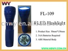 4 LED Flashlight Plastic Body FL-109