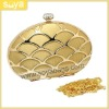 Hot selling alloy crystal elegant clutch party bag WD-79