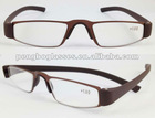 Metal reading glasses with TR90 temples