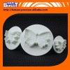 newly style of middle size wedding fondant cake cutter the cake decorating cutter tool-9317