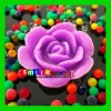 Factory cost flower crystal soil expand 600% of size assorted colors&style rainbow clay