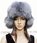 CX-C-67 Silver Fox Fur Russian Winter Hat