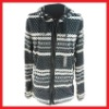 100% Polyester Printed Winter Fleece Jacket