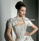 short sleeves wedding bolero WB121