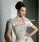 short sleeves wedding bolero WB121