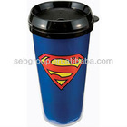 Hotselling 350ml white promotion plastic cup