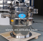 Rotary screen machine for food