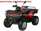 HDA800EP-2 800cc 4x4 china full automatic CVT diesel utility all terrain vehicle ATV/quad