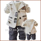 Blending Boys Korean Style Three Pieces Outfit