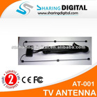 Sharing Digital Car Analog TV Antenna with Amplifier For Tuner Receiver