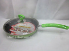 24cm Aluminum Non-stick Hot Selling Frying Pan With Different Colors