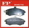 supply D1223 Mercedes Benz brake pad 004 420 8020
