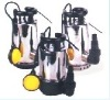 Submersible pump series for clean water