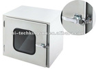 Mechanical interlock Pass box from clean room to clean room or clean room to unclean room