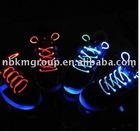 Light up led flashing shoelace