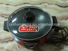 Electric Frying Pan, Round Electric Skillet , non-stick coating easy to clear