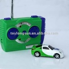 logo color customized service 1:128 mini r/c toy car