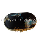 metal buckle double ladies brocade lipstick case lipstick box